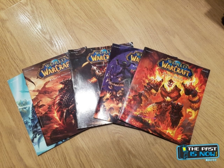 The past is now reportaje revista WORLD OF WARCRAFT