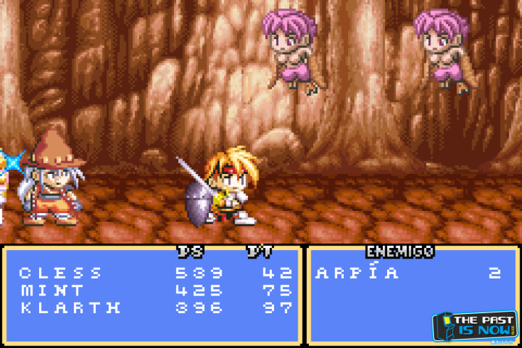 Tales of Phantasia GBA screenshot captura the past is now blog review 10