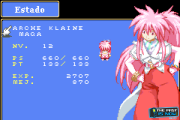 Tales of Phantasia GBA screenshot captura the past is now blog review Arche character personaje