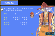 Tales of Phantasia GBA screenshot captura the past is now blog review Klarth personaje character