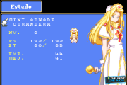 Tales of Phantasia GBA screenshot captura the past is now blog review Mint character personaje