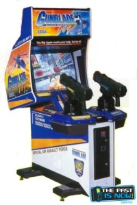 gunblade ny the past is now blog arcade machine