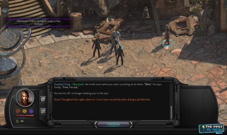 the past is now blog torment tides of numenera Screenshot Captura reviewrica 9