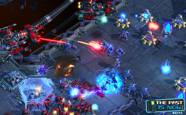 Starcraft 2 gameplay the past is now blog screenshot 3