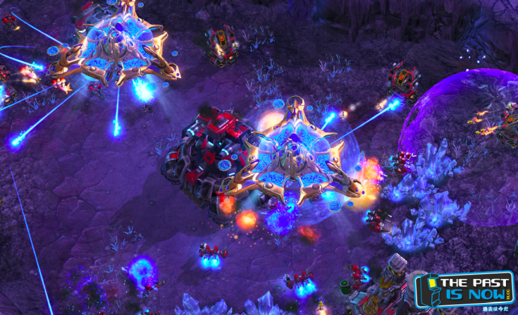 Starcraft 2 gameplay the past is now blog screenshot 4