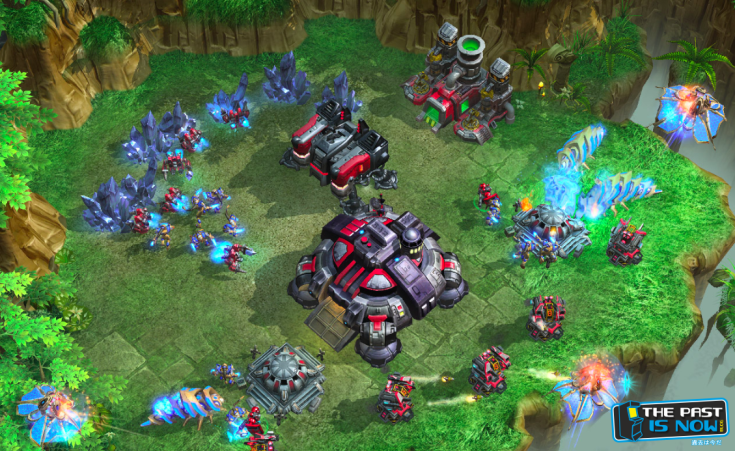 Starcraft 2 gameplay the past is now blog screenshot